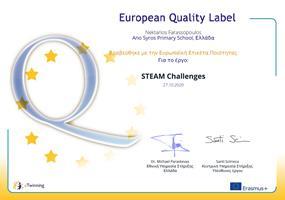 Ευρωπαϊκή Ετικέτα Ποιότητας eTwinning